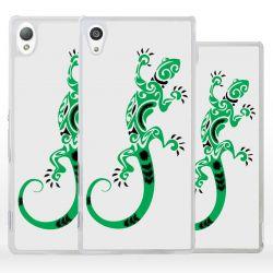 Cover geco lucertola per Sony Xperia