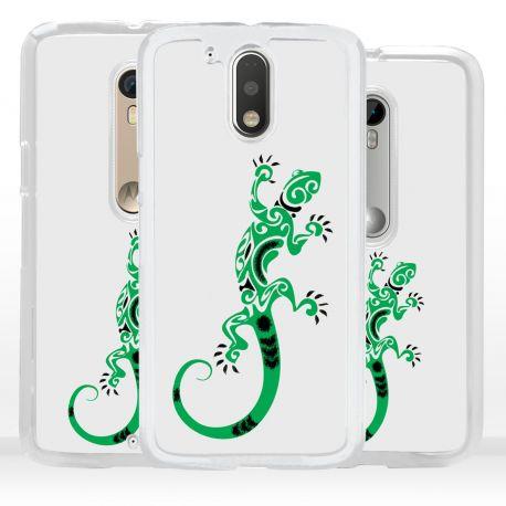 Cover geco lucertola per Motorola
