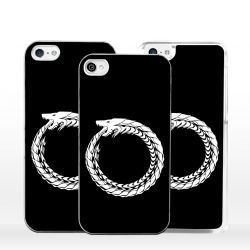 Cover serpente uroboro per iPhone