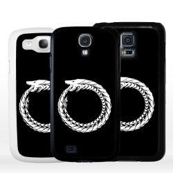 Cover serpente uroboro per Samsung