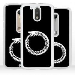 Cover serpente uroboro per Motorola
