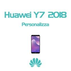 Cover Personalizzata per Huawei Y7 2018