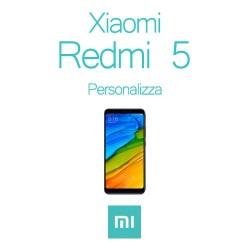 Cover Personalizzata per Xiaomi Redmi 5