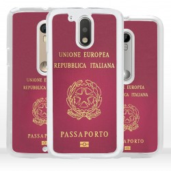 Cover passaporto italiano per Motorola