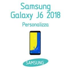 Cover Personalizzata per Samsung Galaxy J6 2018