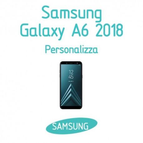 Cover Personalizzata per Samsung Galaxy A6 2018