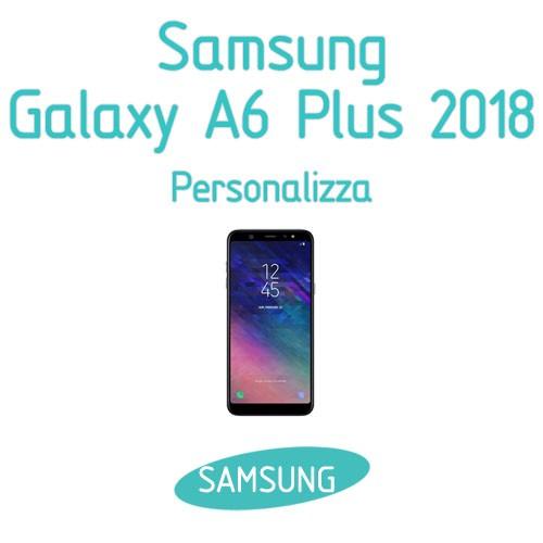 cover samsung a6 2018 personalizzata