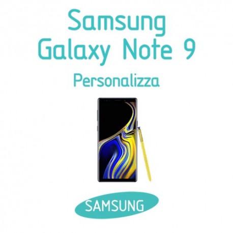 Cover Personalizzata per Samsung Galaxy Note 9
