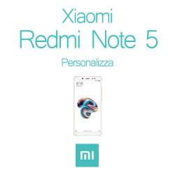 Cover Personalizzata per Xiaomi Redmi Note 5