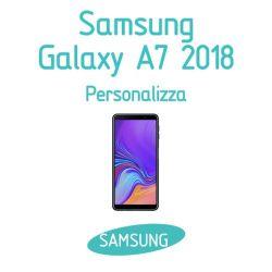 Cover Personalizzata per Samsung Galaxy A7 2018
