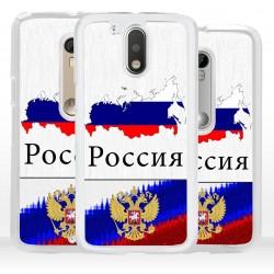 Cover bandiera Russia per Motorola