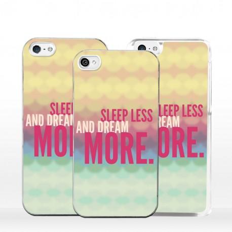 Cover dormi meno sogna di più per iPhone