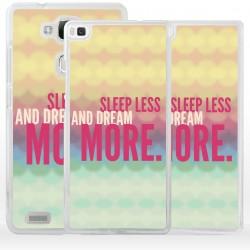 Cover dormi meno sogna di più per Huawei
