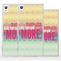 Cover dormi meno sogna di più per Sony Xperia