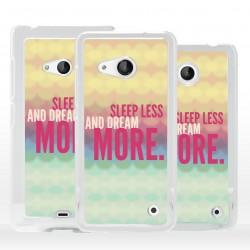 Cover dormi meno sogna di più per Microsoft Nokia Lumia