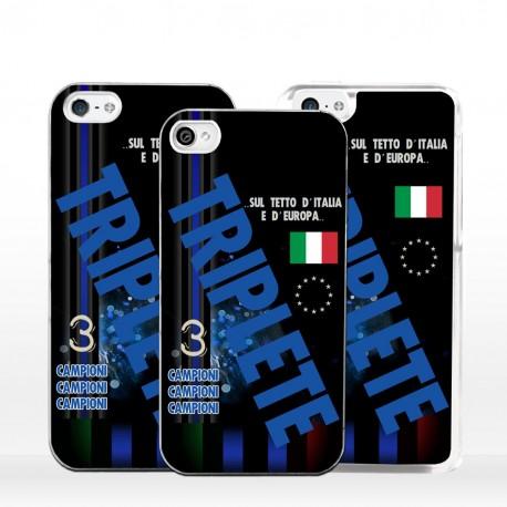 Cover Triplete nerazzurro per iPhone