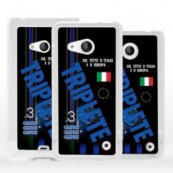 Cover Triplete nerazzurro per Microsoft Nokia Lumia