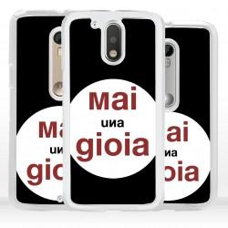 Cover mai una gioia per Motorola