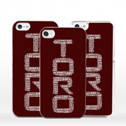 Cover toro cuore granata per iPhone