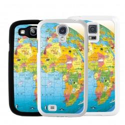 Cover per Samsung mappamondo cartina geografica