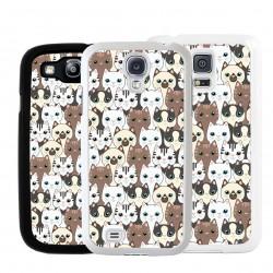 Cover per Samsung pattern con gatto siamese