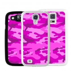 Cover per Samsung mimetica camouflage rosa