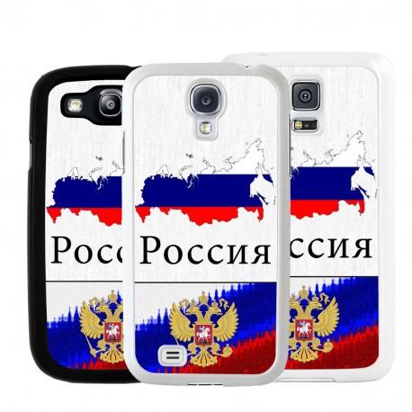 Cover bandiera Russia per Samsung
