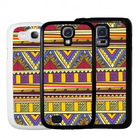 Cover per Samsung con pattern tribale etnico Azteca