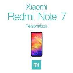 Cover Personalizzata per Xiaomi Redmi Note 7