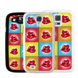 Cover bocca rossa per Samsung