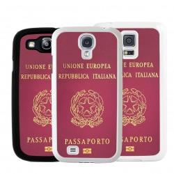 Cover passaporto italiano per Samsung