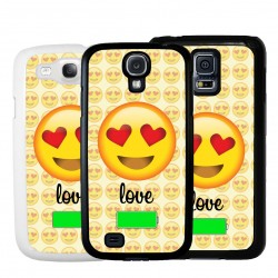Cover emoticon amore per Samsung