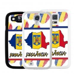 Cover bandiera Romania per Samsung