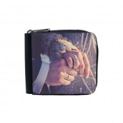 Portafogli uomo donna personalizzato con zip
