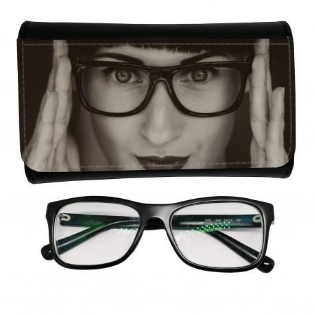 Custodia personalizzata per occhiali da vista o da sole