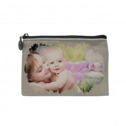Mini borsellino personalizzato con foto