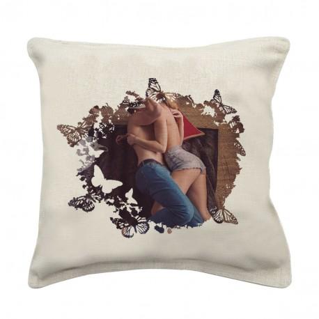 Cuscino in tela personalizzato