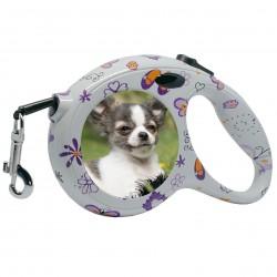 Guinzaglio avvolgibile personalizzato 5M per cani