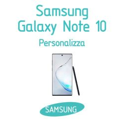 Cover Personalizzata per Samsung Galaxy Note 10