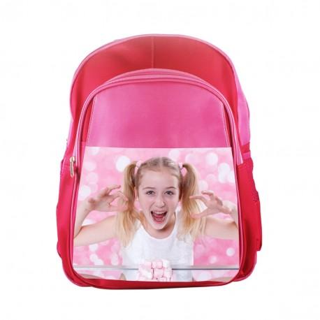 Zaino scuola personalizzato rosa