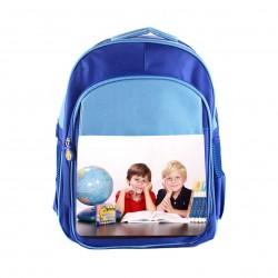 Zaino scuola personalizzato blu