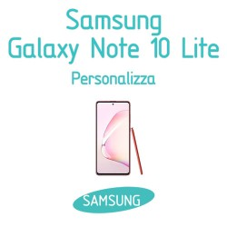 Cover Personalizzata per Samsung Galaxy Note 10 Lite